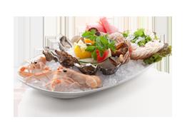 Piatto di pesce al Ristorante Frontemare