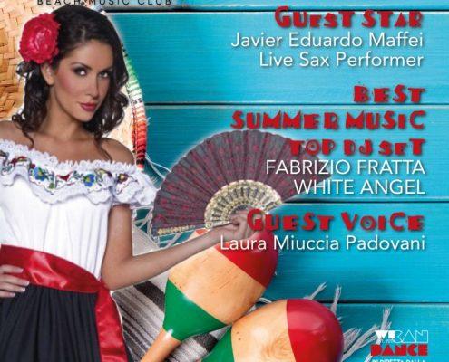 Venerdì 5 Agosto Messico e Nuvole alla SUITE BEACH music club by Frontemare Rimini