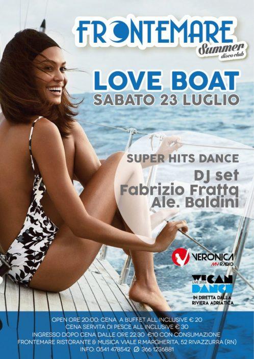 Sabato 23 Luglio Frontemare beach music club