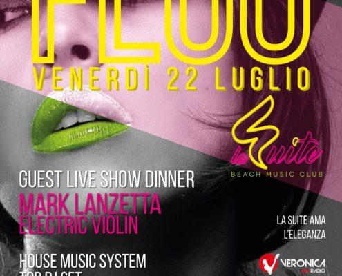 Venerdì 22 Luglio Fluo party on the beach