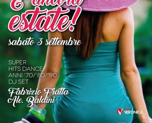 3 settembre al Frontemare Rimini a ritmo 70/80