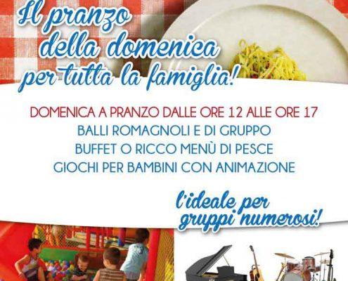Domenica è pranzo in famiglia al Ristorante & Musica Frontemare