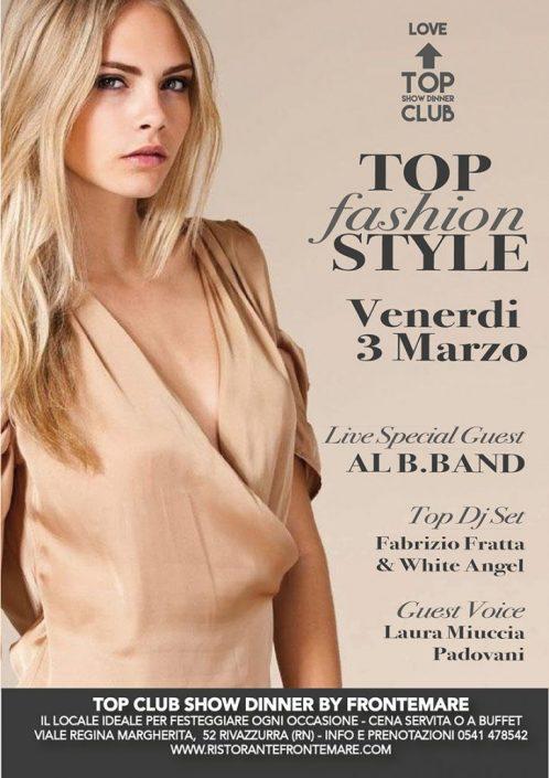 TOP CLUB fashion style 3 Marzo Frontemare RIMINI