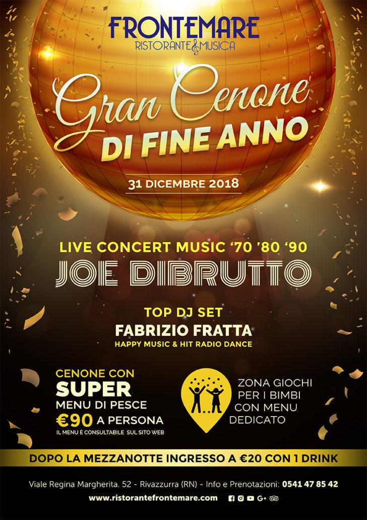 Gran Cenone Di San Silvestro 2019 Ristorante Frontemare Rimini